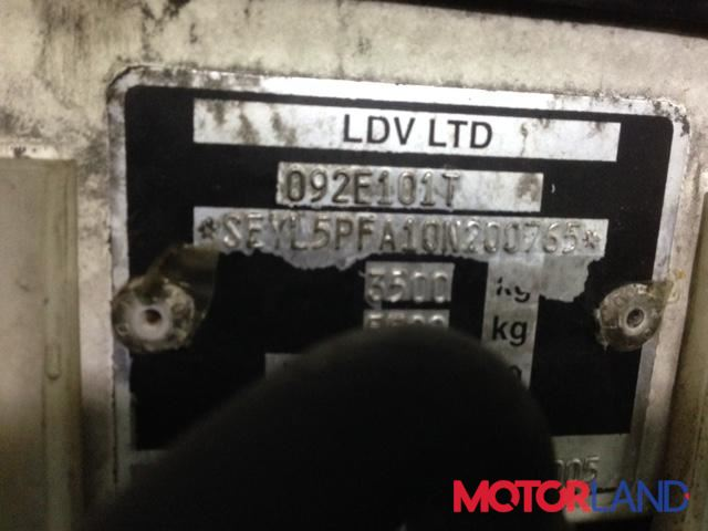 LDV (DAF) Maxus, разборочный номер T3341 #1