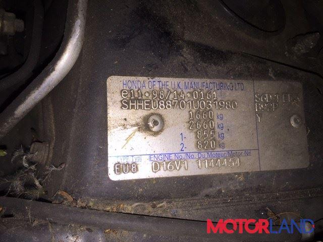 Honda Civic 2001-2005, разборочный номер 75544 #1
