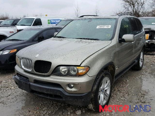 BMW X5 E53 2000-2007 4.4 литра Бензин Инжектор, разборочный номер K374 #1