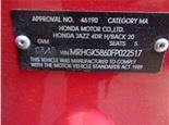 Honda Jazz 2015- 1.5 литра Бензин Инжектор, разборочный номер J4335 #3