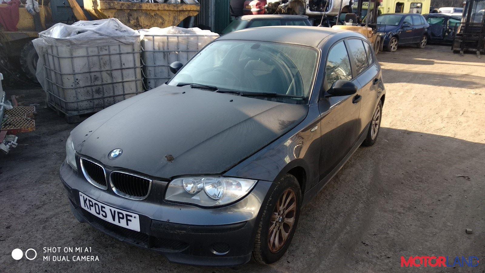 BMW 1 E87 2004-2011, разборочный номер T10681 #1