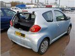 Toyota Aygo 1 литра Бензин Инжектор, разборочный номер T11704 #4