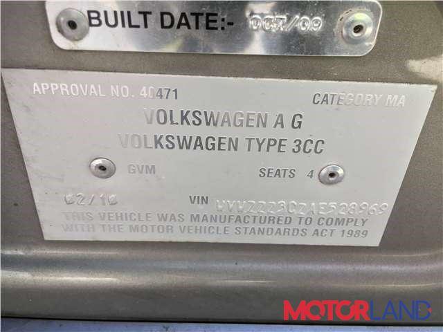 Volkswagen Passat CC 2008-2012, разборочный номер J5257 #6