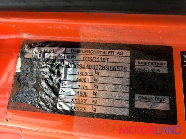 Mercedes Axor 2, разборочный номер T12360 #5