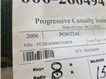 Pontiac Vibe 1 2002-2008, разборочный номер P203 #6