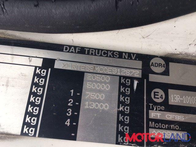 DAF CF 85 2002-, разборочный номер T22340 #5
