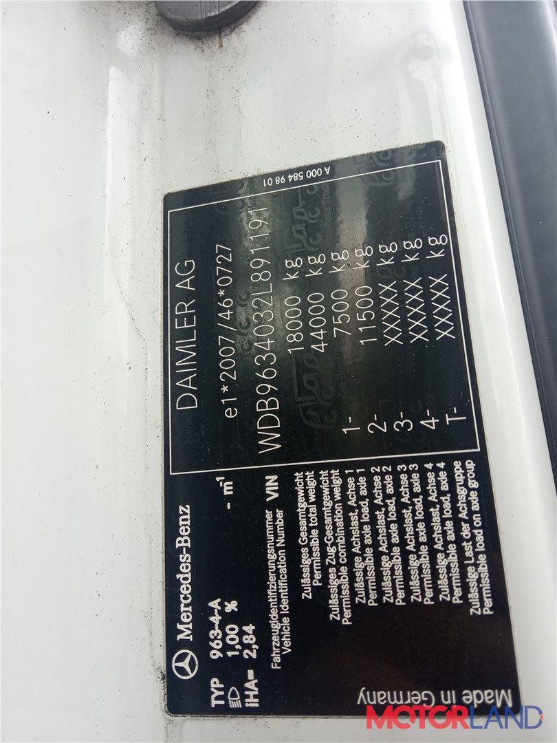 Mercedes Actros MP4 2011-, разборочный номер T21408 #5
