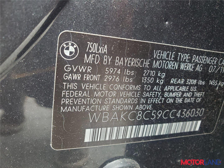 BMW 7 F01 2008-2015, разборочный номер P748 #7