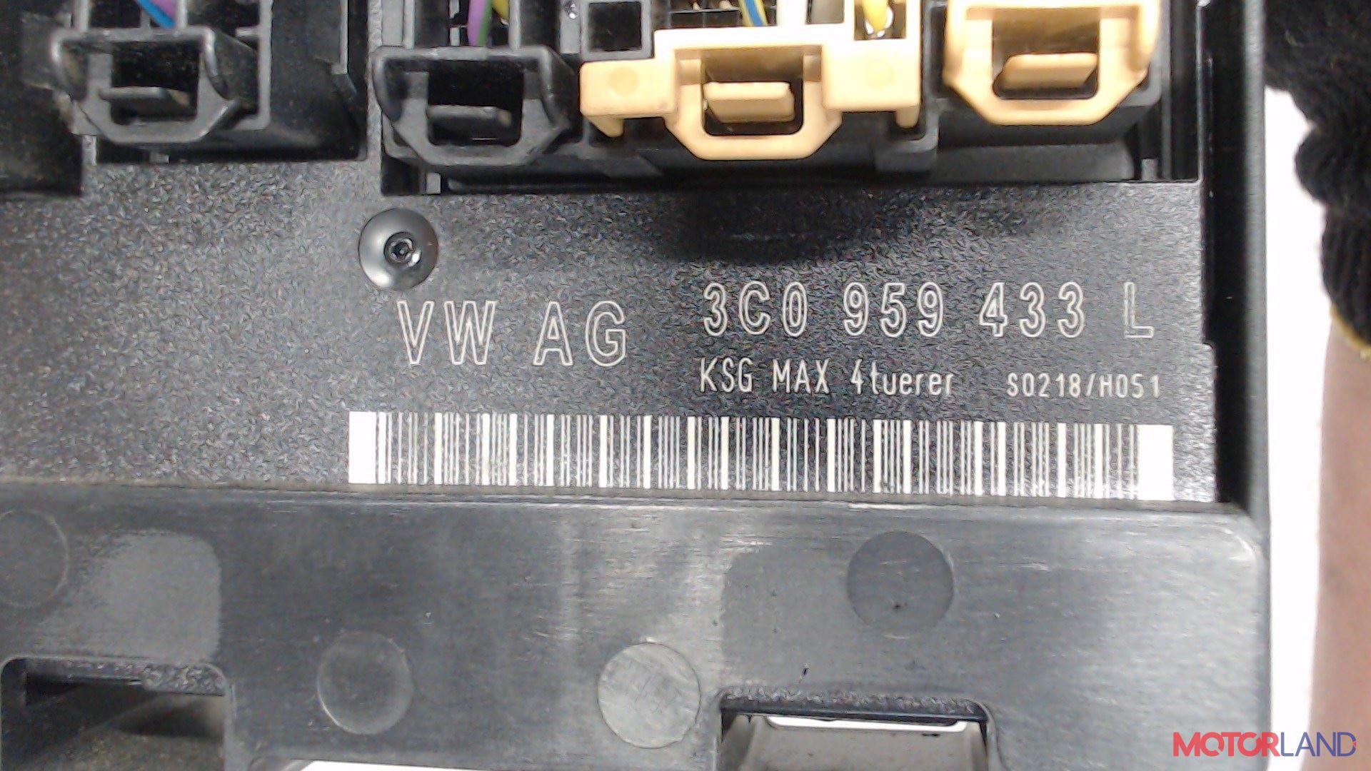 Блок управления (ЭБУ) Volkswagen Passat 6 2005-2010 3.2 л. 2006 AXZ б/у #3