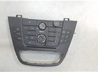 13273256 Панель управления магнитолой Opel Insignia 2008-2013 6625101 #1